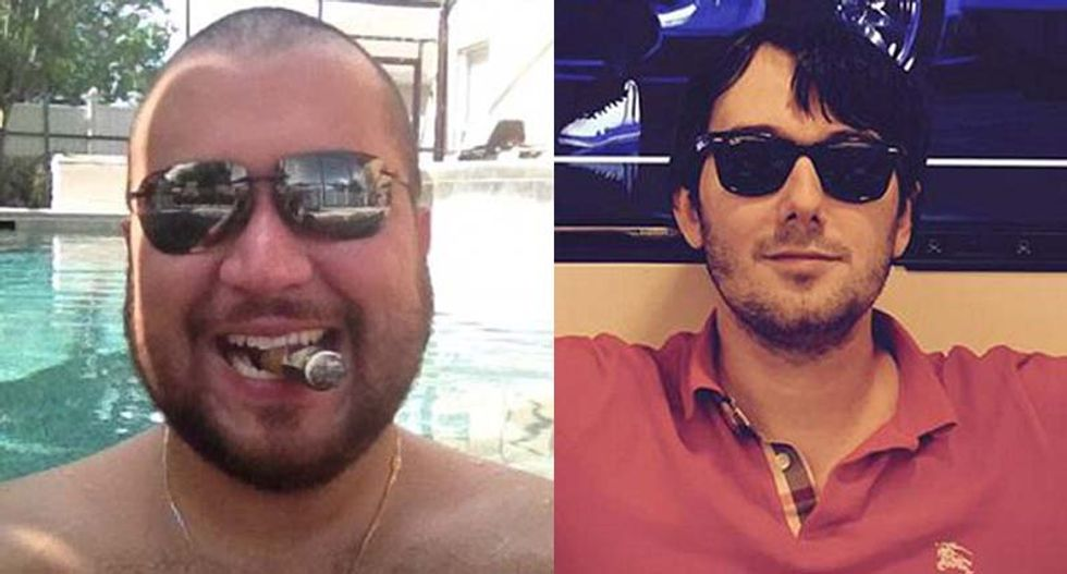 Racist trolls defend George Zimmerman after 'Pharma Bro' offers to buy gun as 'reminder' of racism