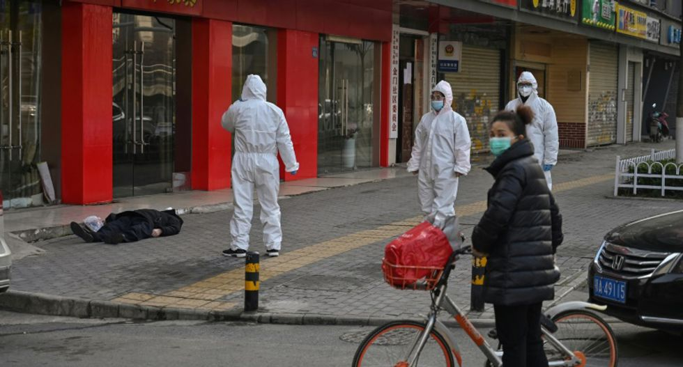New numbers released by China show coronavirus epidemic soaring as the outbreak continues to spread