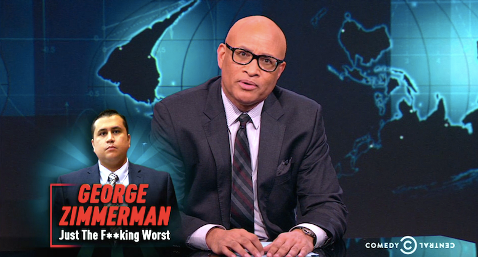 Larry Wilmore annihilates Trayvon Martin's killer: 'George Zimmerman, you can go to hell'