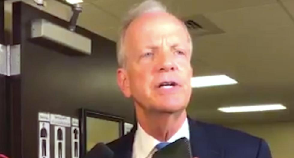 GOP senator agrees 'Americans should be upset' after facing frustrated voters