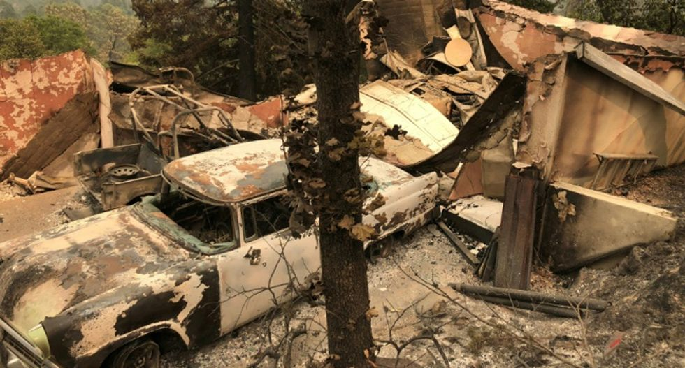 Death toll rises as tinder-dry conditions fuel deadly California fires