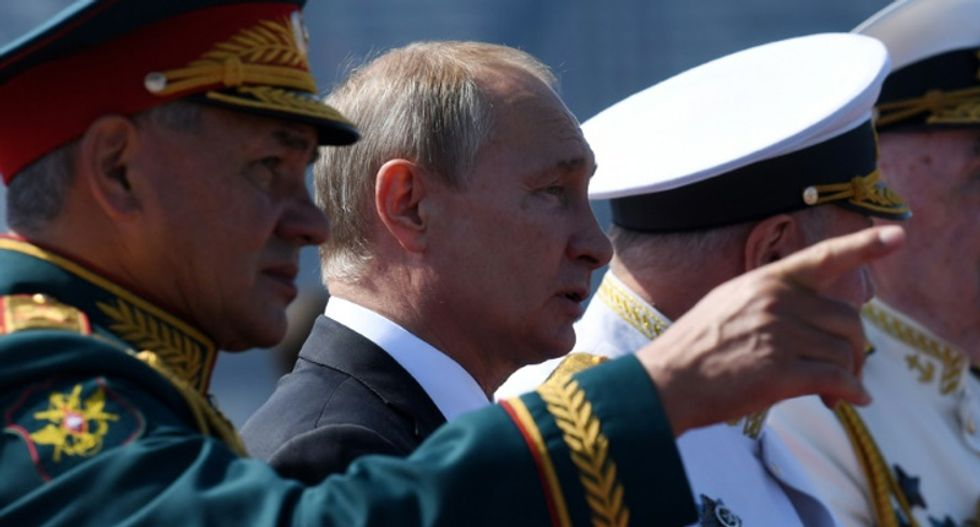 Russian navy builds 26 new ships this year in show of strength