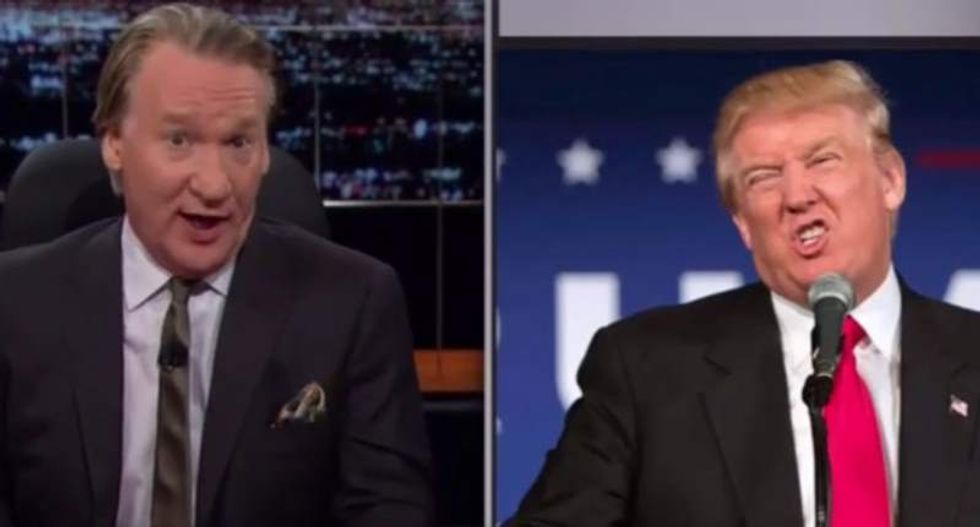 Bill Maher taunts conservatives: Don't blame liberals for 'dangerous buffoon' Trump -- he's your problem