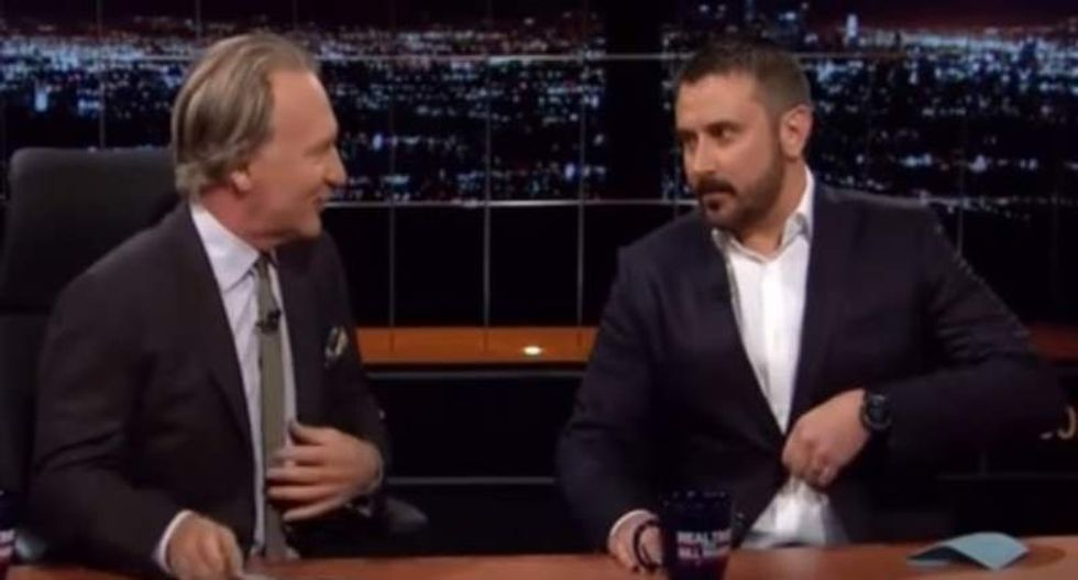 Jeremy Scahill warns Maher: Trump's rise 'has whiffs of how Hitler rose to power'
