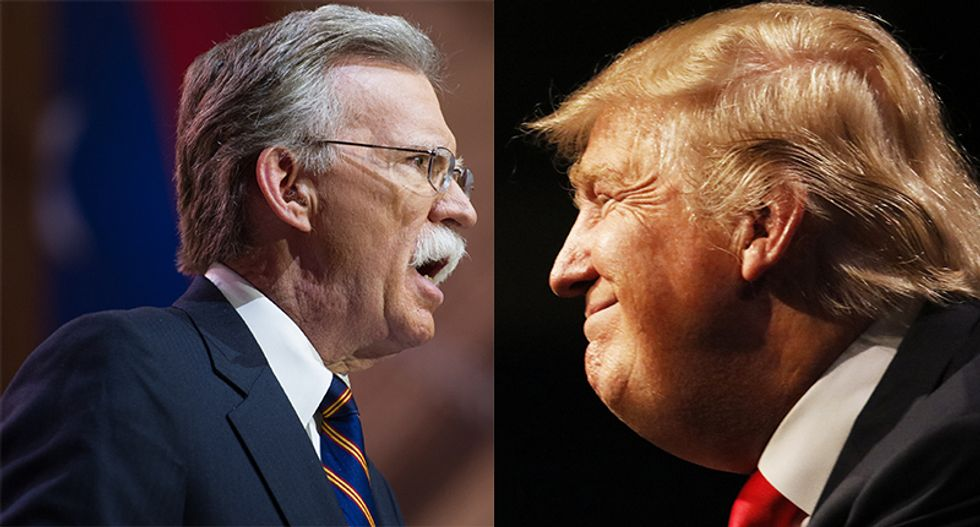 Trump could end up in another damning legal battle -- this time with John Bolton over his book