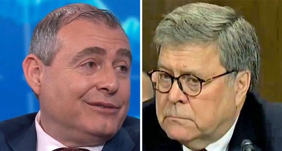 'There's a treasure trove' of unseen additional evidence implicating AG Bill Barr: Watch Lev Parnas on MSNBC