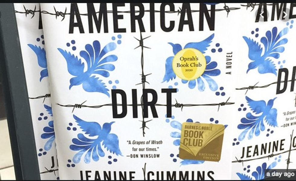 'American Dirt,' novel on migrants, ignites literary controversy