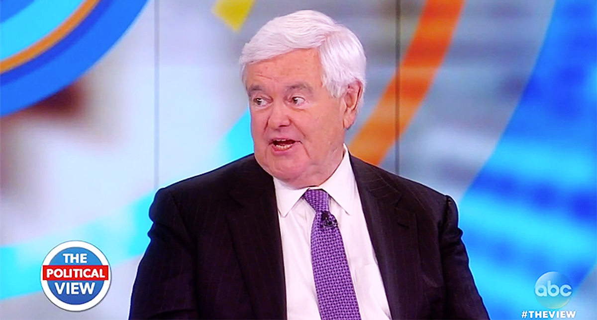 Newt Gingrich faces furious backlash for saying Maxine Waters is 'part of lynch mob trying to destroy' Marjorie Taylor Greene