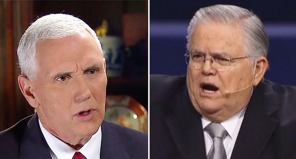 Pence to speak at conference hosted by pastor who claimed God created Hitler to hunt down the Jews