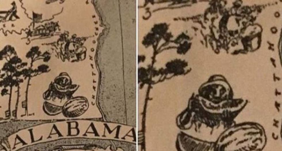 Alabama sorority caught using 'abhorrent' racist caricature -- after college said not to