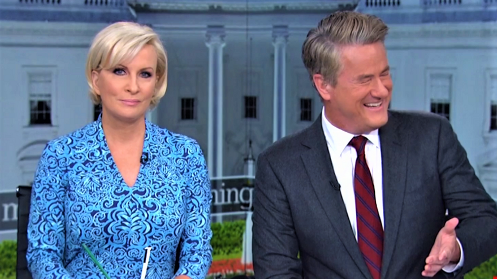 'Throw grandpa from the train!' Morning Joe openly laughs at 'pathetic' Rudy Giuliani's trainwreck TV interviews