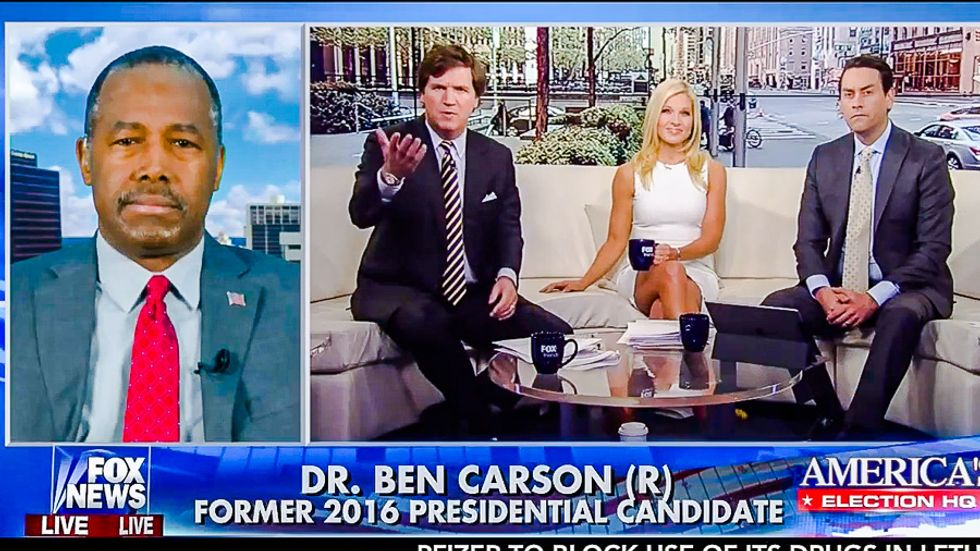 Fox News asks Ben Carson: 'As a Christian are you comfortable' with Trump's mistreatment of women?