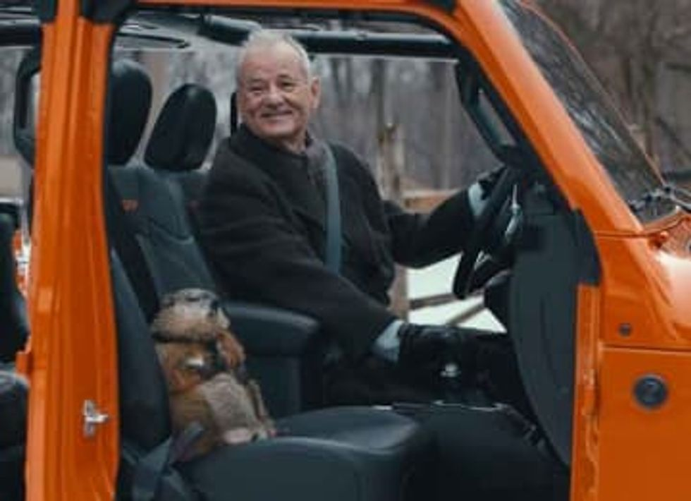 WATCH: Bill Murray reprises 'Groundhog Day' Role in Super Bowl LIV commercial For Jeep