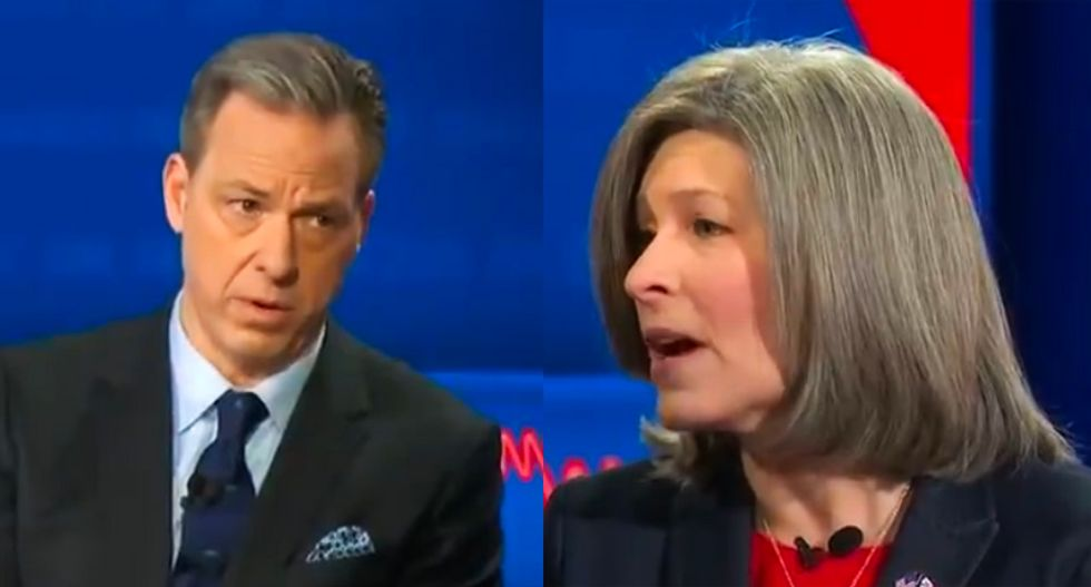 Joni Ernst confronted by CNN's Tapper for calling Trump's Ukraine phone call 'wrong' and then refusing to say why