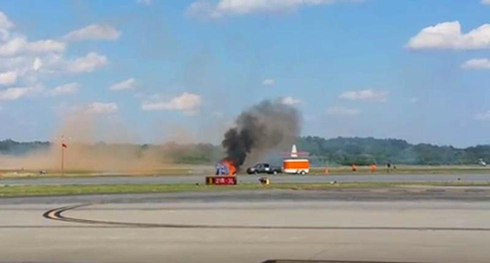 Stunt pilot killed in tragic crash at Georgia air show