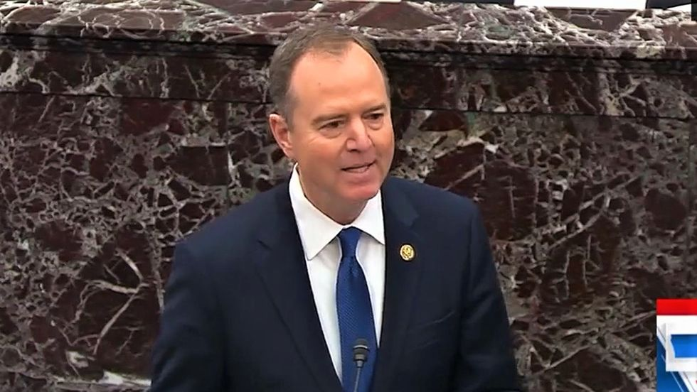Adam Schiff drops the mic in final impeachment arguments: 'Nothing more corrosive to democracy than the idea that there is no truth'