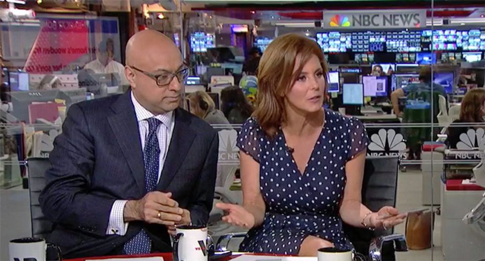 MSNBC hosts Velshi and Ruhle hammer pro-Trump oil executive for refusing to admit the president lies