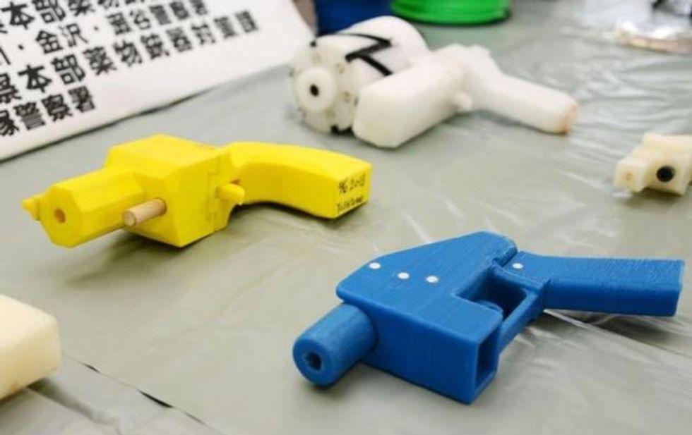 US judge halts 3-D printed gun blueprints hours before planned release