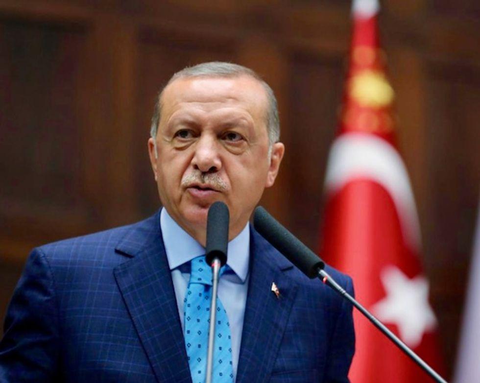 Turkey's President Tayyip Erdogan says US's threatening language will not benefit anyone