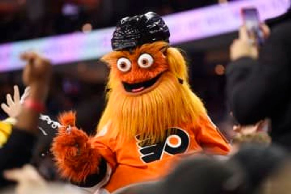 Philadelphia police decide if Flyers mascot Gritty will be charged with alleged assault of 13-year-old boy