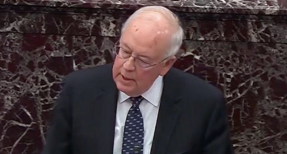 'This is mental abuse': Ken Starr's 'deranged' closing statement infuriates and confuses viewers