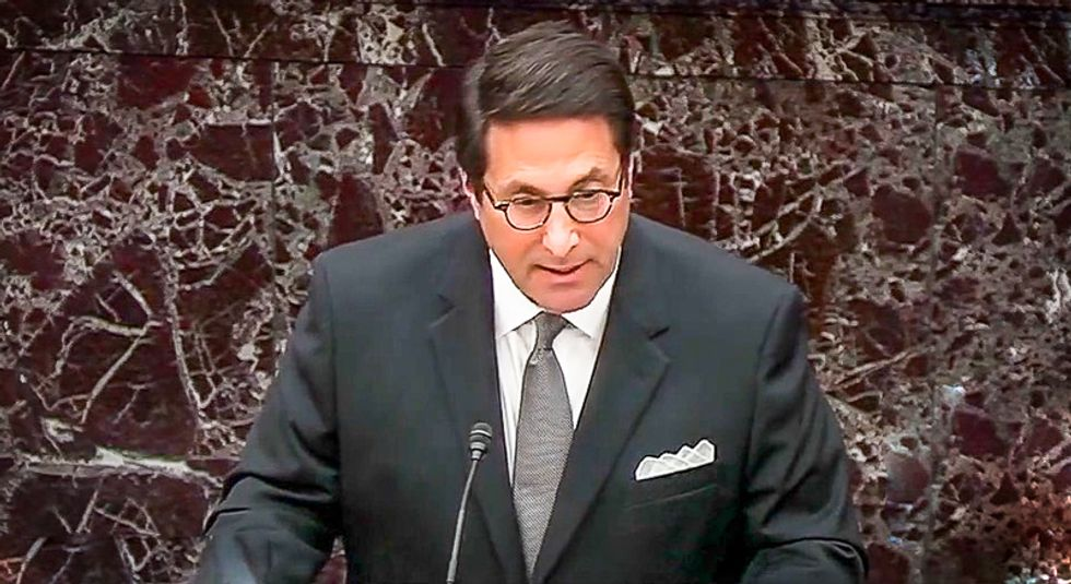 'You took an oath': Jay Sekulow claims Constitution says senators should 'stand firm' and acquit Trump