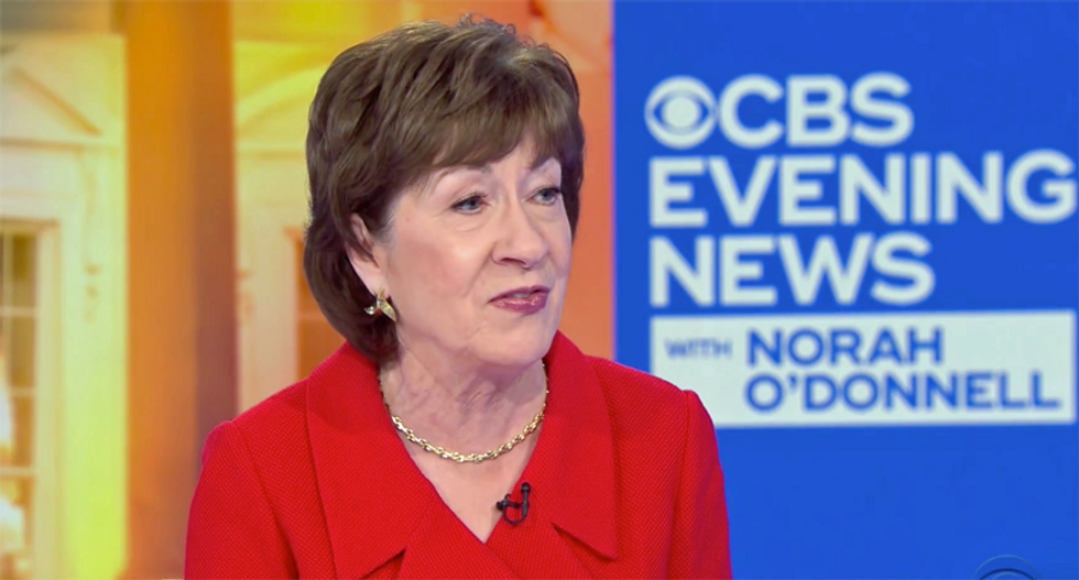 Maine woman tells FBI she was defending herself when she threatened to behead and shoot Susan Collins