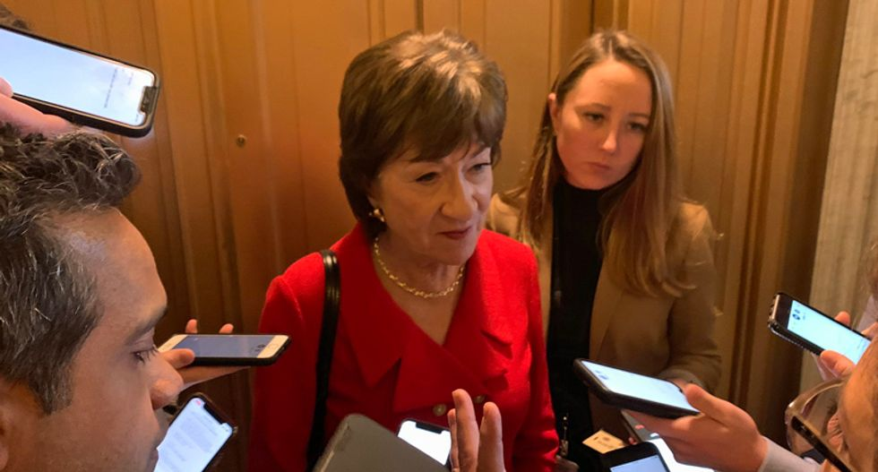 Susan Collins won't say if John Bolton changed her view on impeachment