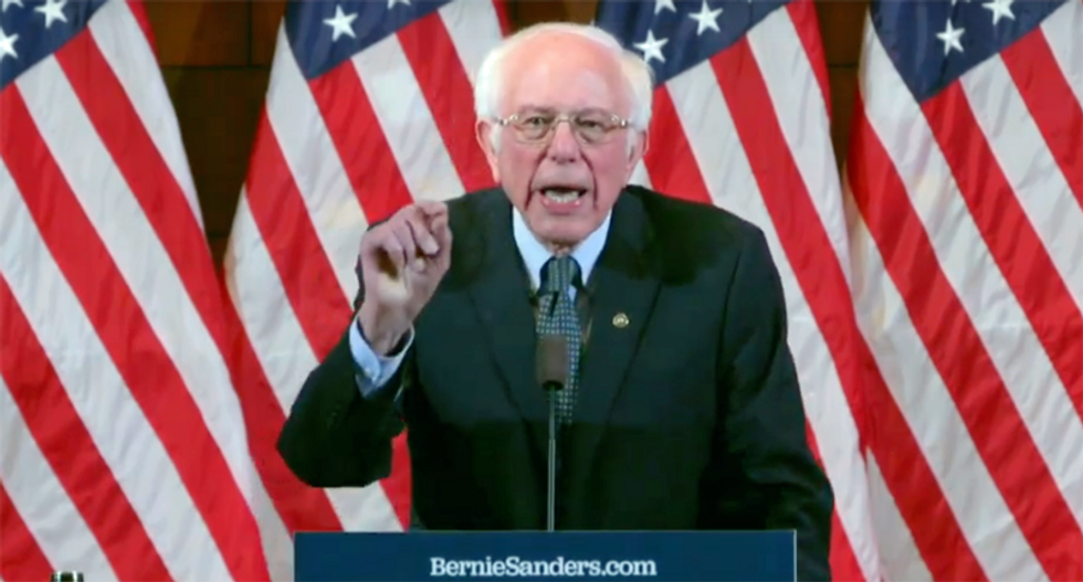 Sanders argues Medicare for All is vital for union workers: 'They're losing wage increases because cost of healthcare is soaring'