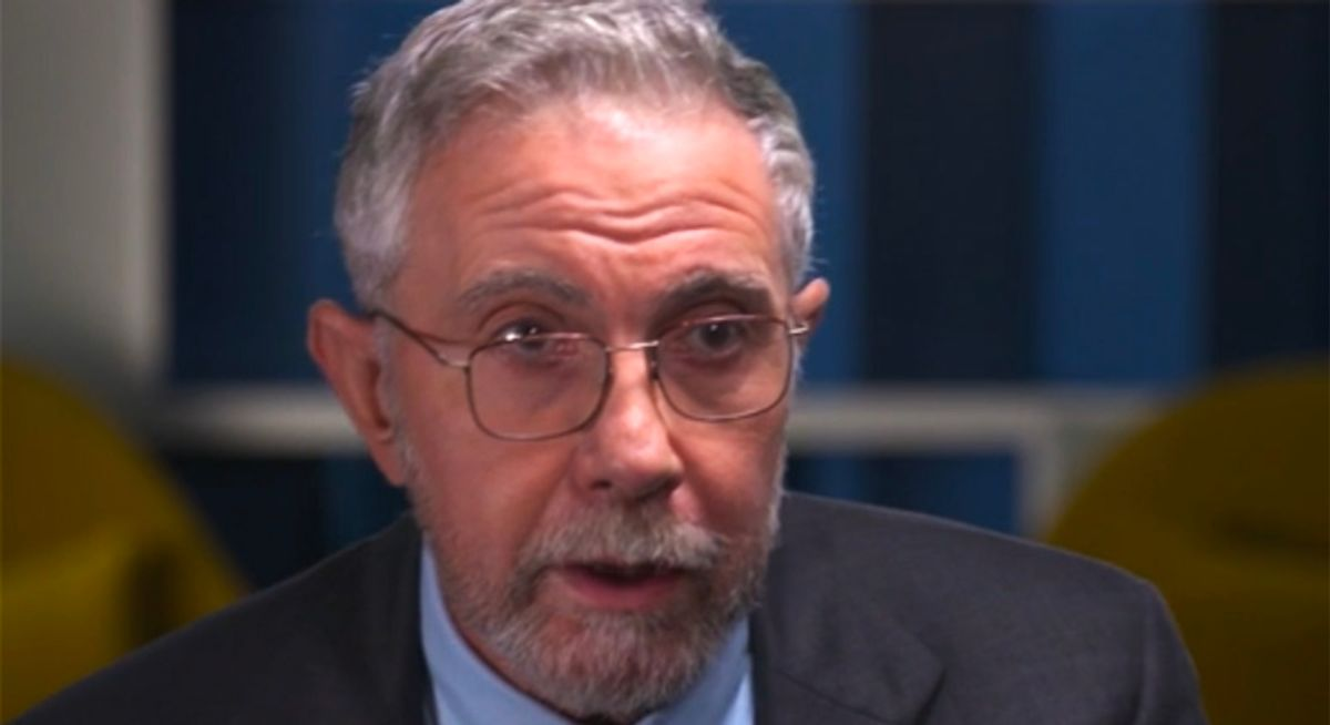 Paul Krugman: Congress' relief bill is 'short-changing people in desperate straits'
