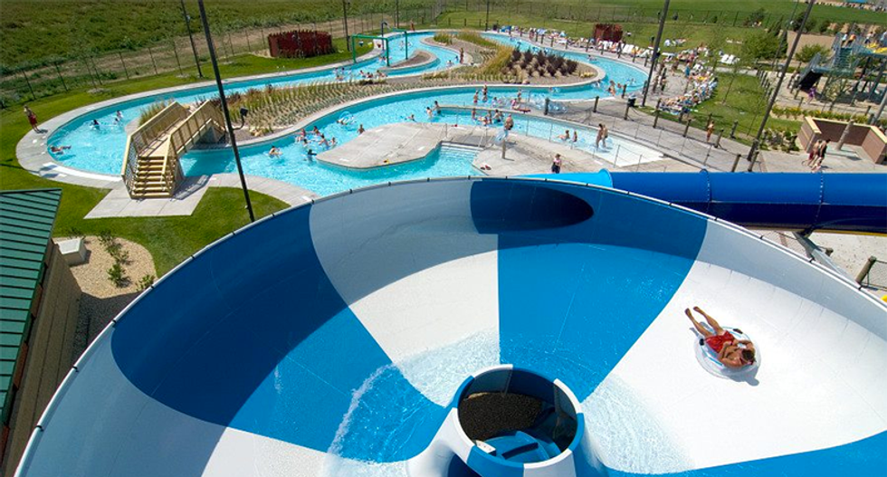 Minnesota teen arrested after pushing 8-year-old from 31-foot tall water slide