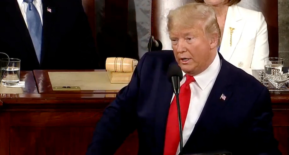 Here's why Trump's reality-TV gimmicks and xenophobic rhetoric in his SOTU speech appeals to evangelicals
