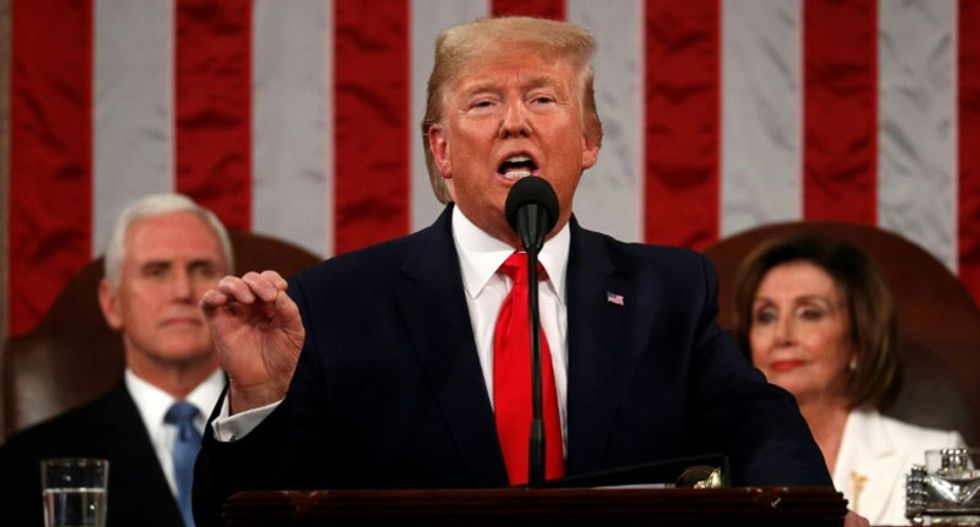 Delusional Trump demands credit for an American comeback that only exists in his addled brain