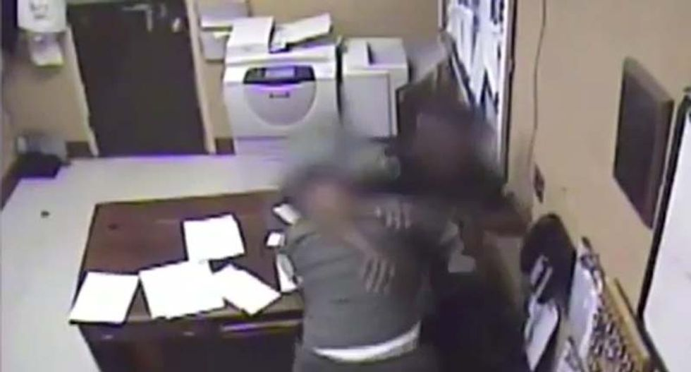 WATCH: Alabama jail inmate locks door, grabs guard's weapon and assaults him in surprise attack