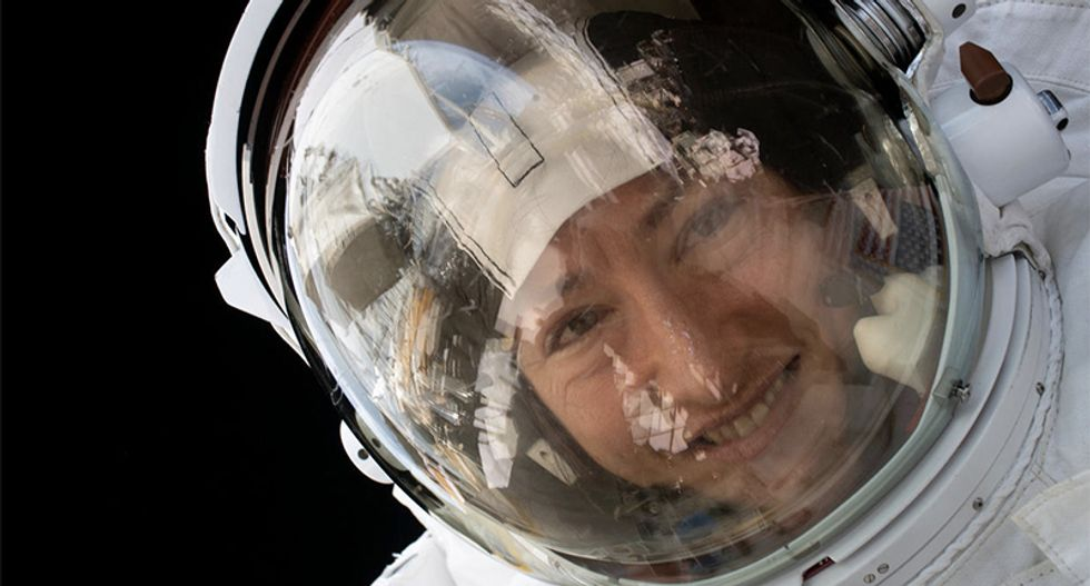 Record-breaking US astronaut Christina Koch to return home to Earth this week