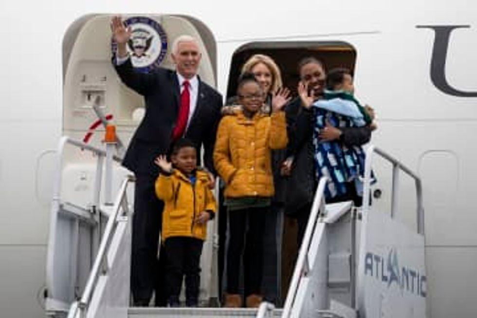Education Secretary Betsy DeVos personally funding scholarship for girl cited by Trump