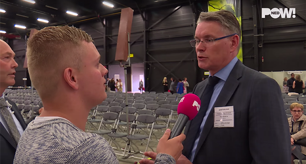 WATCH: Jehovah's Witnesses convention boots reporter for asking simple questions about homosexuality