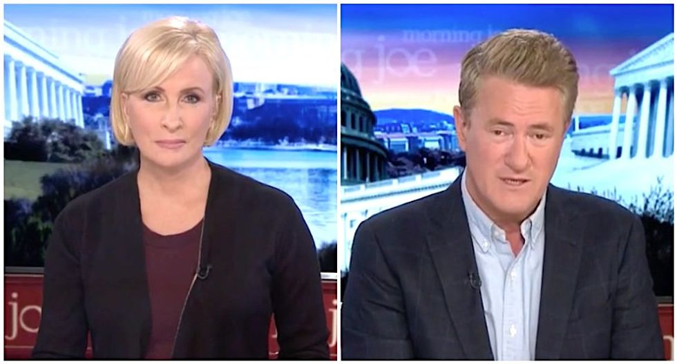 MSNBC's Morning Joe and Mika claim almost every Republican agrees with Romney: 'They're just too scared to say it'