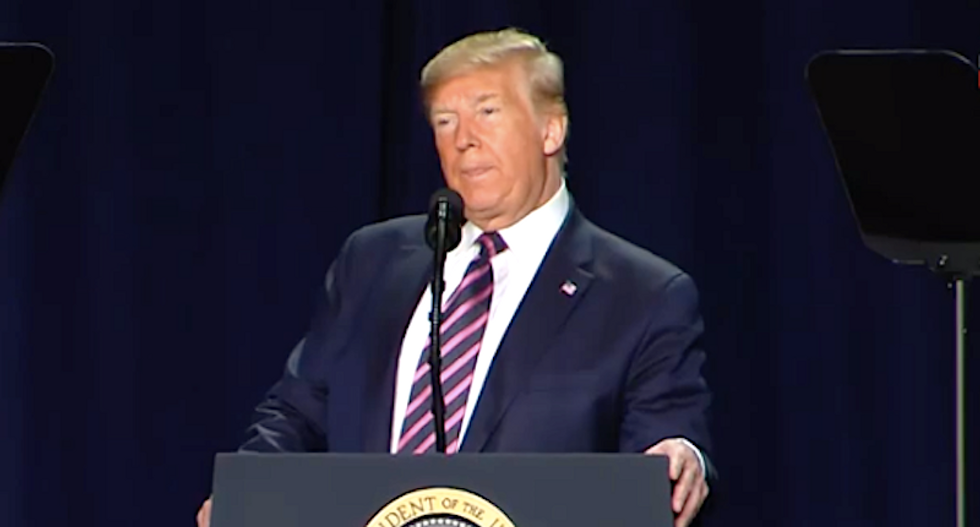 National Prayer Breakfast ripped for allowing Trump to rant at his critics: This is why people 'are leaving religion'