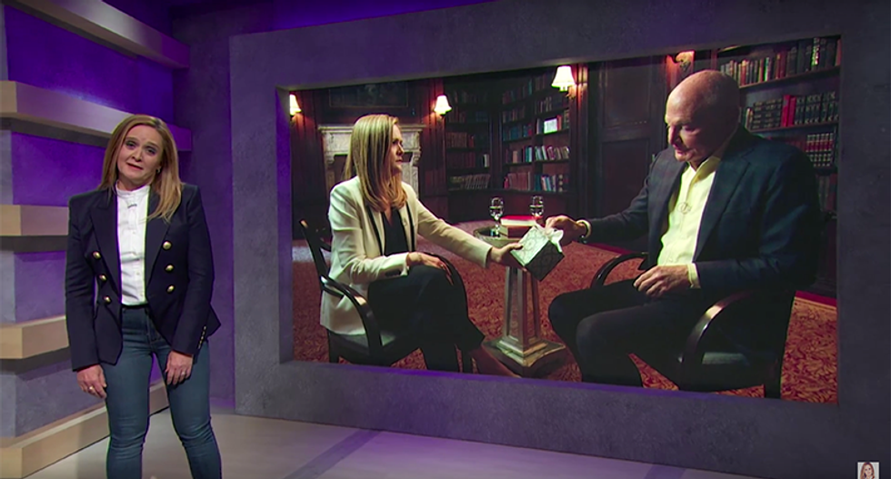 Samantha Bee consoles pathetic Republican millionaire who can't stop giving his money to losers