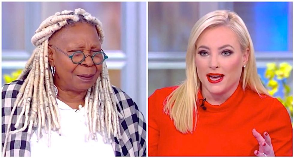 The View's Whoopi Goldberg challenges Meghan McCain to explain why Rush Limbaugh deserves Medal of Freedom