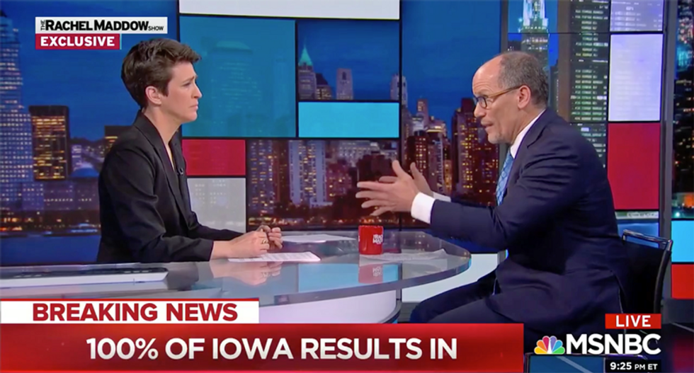 'This was a major league failure': DNC Chair Tom Perez blasts local Democrats for Iowa Caucuses disaster