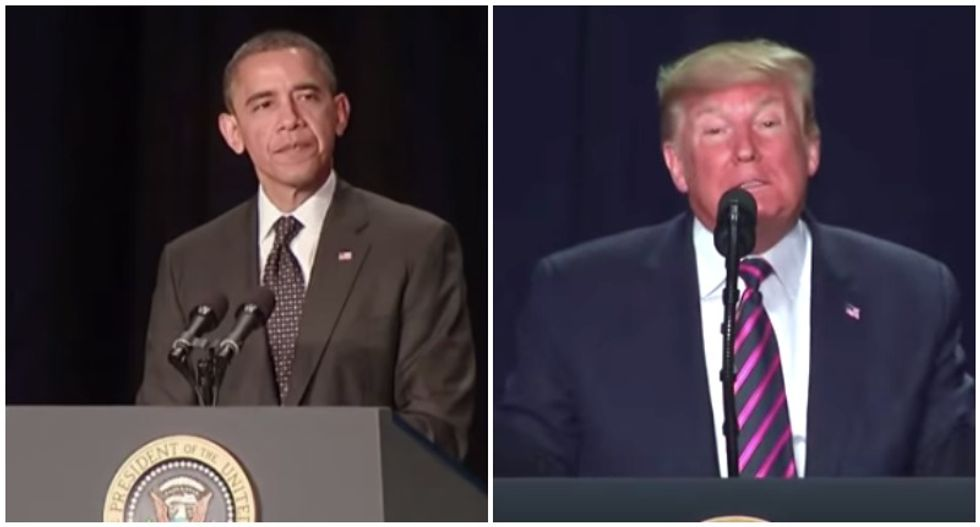 Differences between Obama and Trump at National Prayer Breakfast exposed in Jimmy Kimmel supercut video