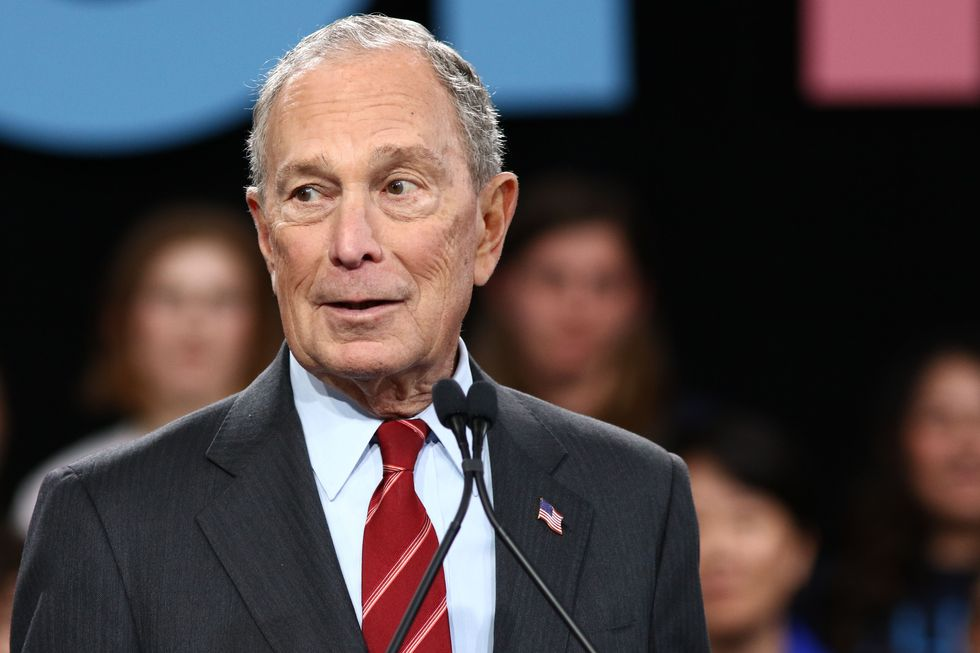 Why is the media giving Mike Bloomberg a free pass?