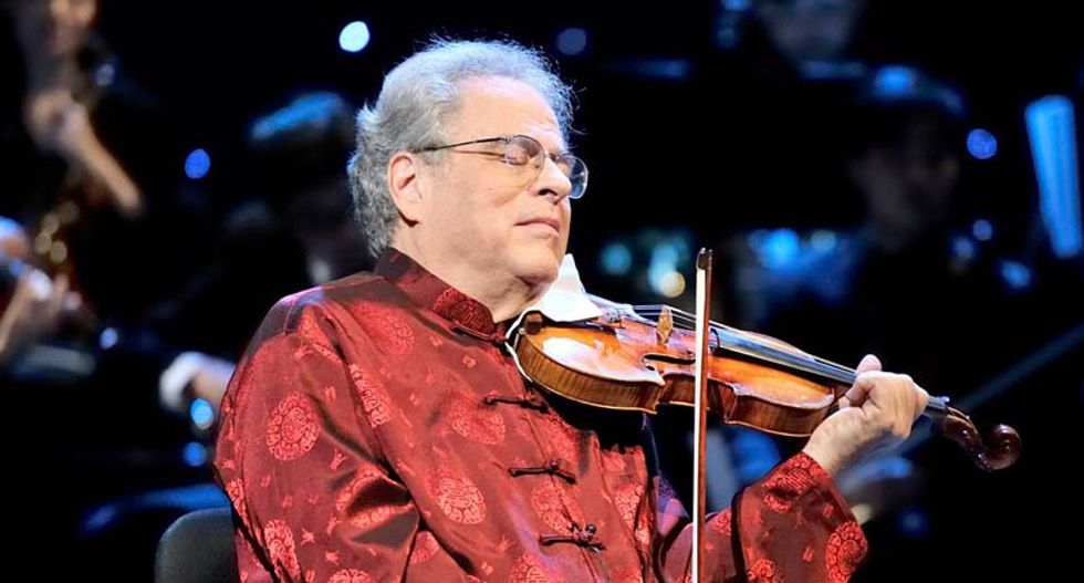 World-renowned violinist Itzhak Perlman abruptly cancels North Carolina show over anti-LGBT laws