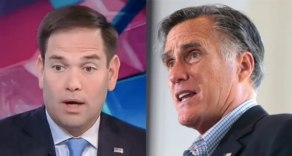 All you need to do to see how the GOP has 'sunk' is compare Romney to Rubio: conservative columnist