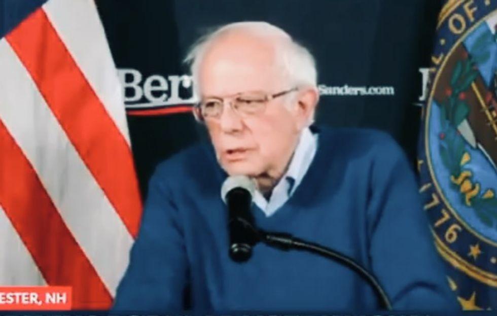 Bernie Sanders and Pete Buttigieg wrestle over who 'won' Iowa