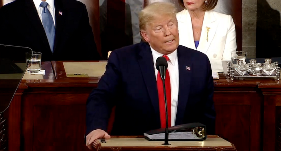 Trump's State of the Union Address was a Christian nationalist dog whistle