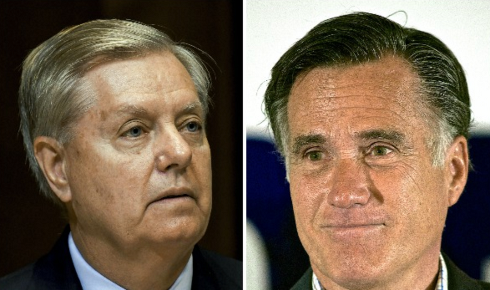 Lindsey Graham takes a swipe at Mitt Romney's faith: His religion is 'clouding' his thinking