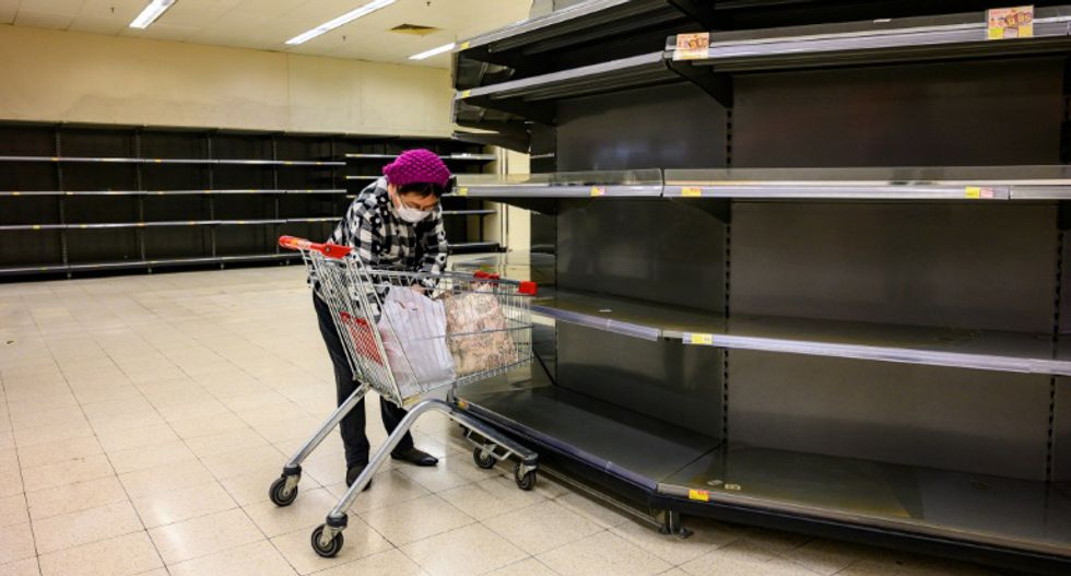 Heavy selling in Asian markets as COVID-19 coronavirus threatens the global economy